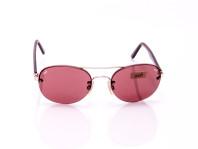 occhiale da sole unisex lenti sottili color prugna