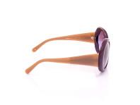 occhiale da sole donna chanel aste color sabbia montatura color prugna