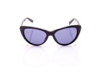 occhiale da sole donna nero montatura retrò lenti multifocali