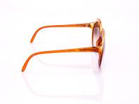 occhiale da sole opti arancio lenti oversize anti graffio