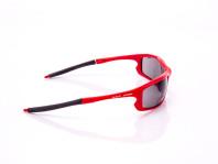 occhiale sportivo uomo arreca rosso lenti anti riflesso