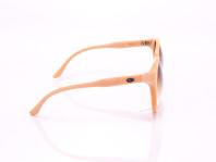 occhiale da sole vintage modissa donna color pesca montatura circolare