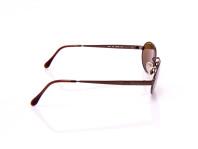 occhiali da sole sferosol color terra aste con cerniera montatura opaca