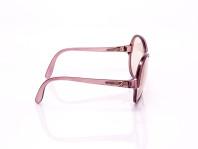 occhiale da sole donna viola vintage montatura in plastica riciclata
