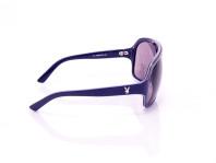 occhiali a sole uomo playboy viola montatura a mascherina