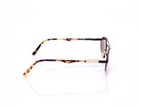 occhiale da sole uomo top gun montatura in alpacca bicolor